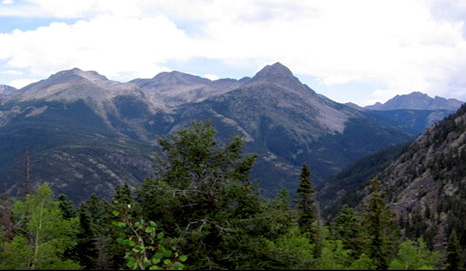 mountians and treeline